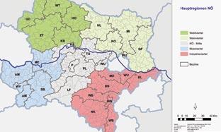 NÖ Hauptregionen