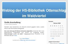 Bibliothek der HS Ottenschlag